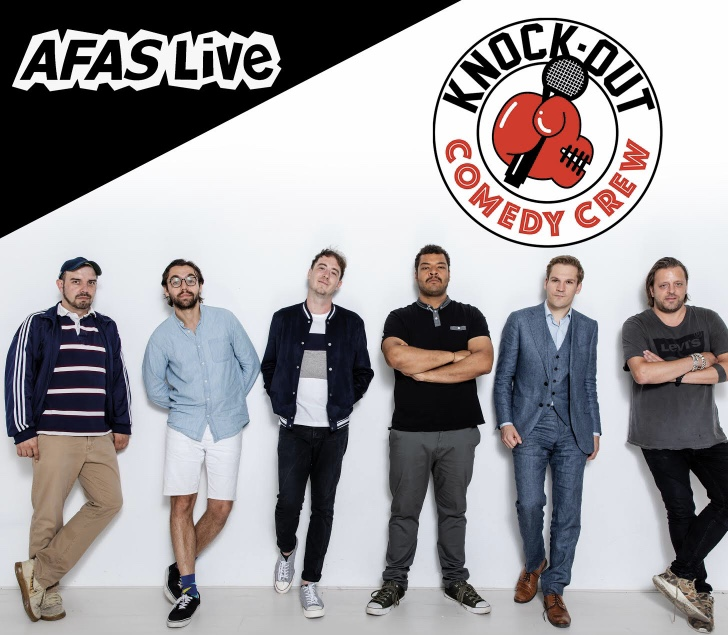 Ticket kopen voor evenement Knock Out Comedy Crew in AFAS Live