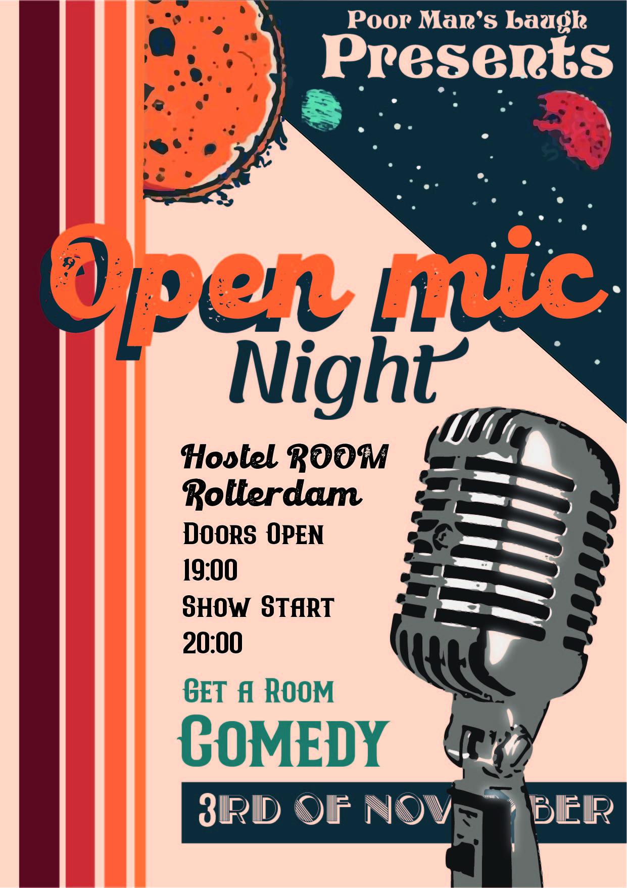 Ticket kopen voor evenement Get A ROOM Comedy