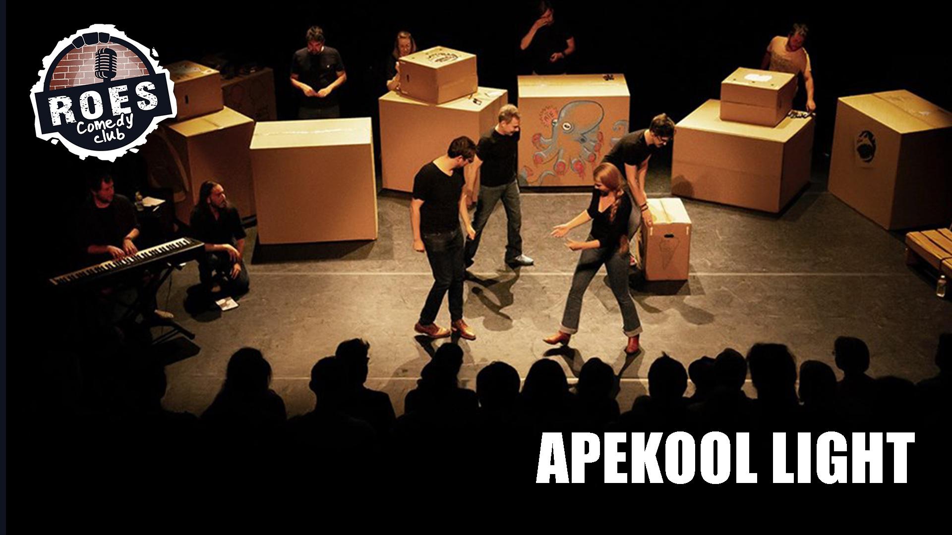 Ticket kopen voor evenement Roes Comedy Club: Apekool Light