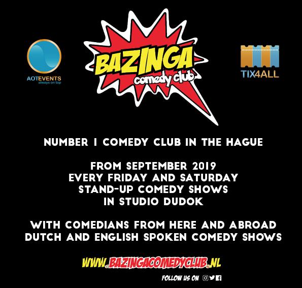 Ticket kopen voor evenement Bazinga Open Mic, Comedy Night (ENG)