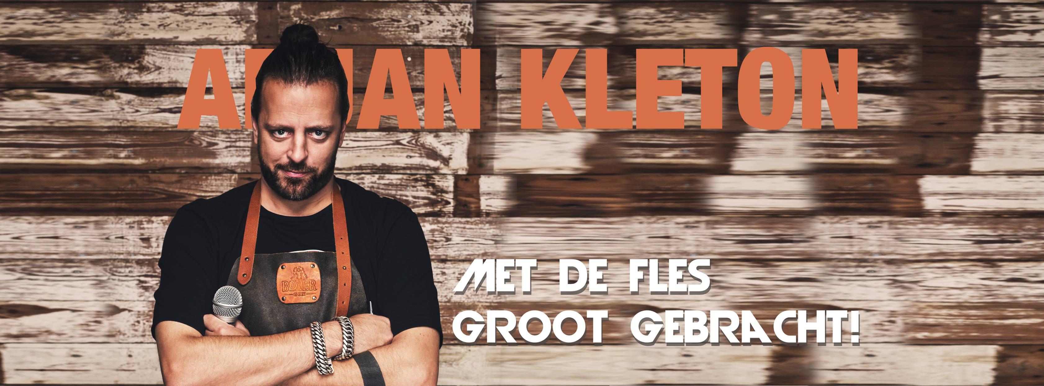 Ticket kopen voor evenement Arjan Kleton Met de fles grootgebracht (Amsterdam)