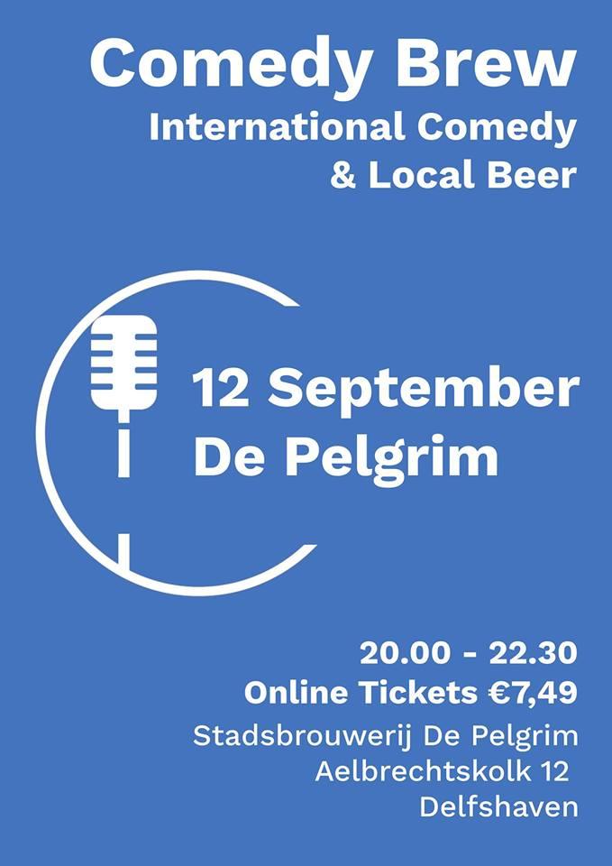 Ticket kopen voor evenement Comedy Brew September