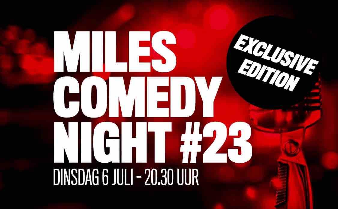 Ticket kopen voor evenement Miles Comedy Night #23