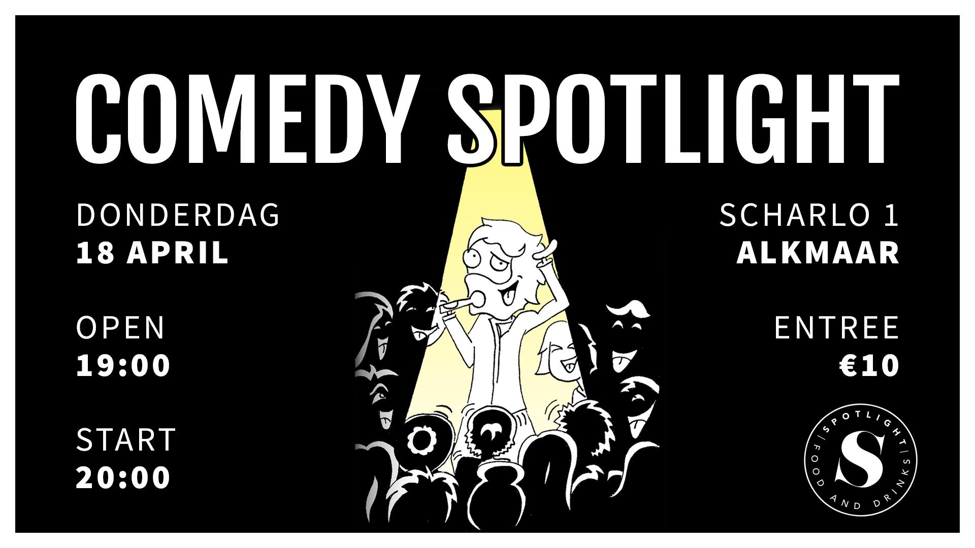 Ticket kopen voor evenement Comedy Spotlight Alkmaar II