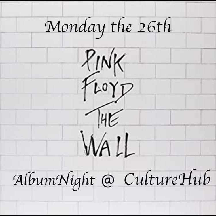 """Ticket kopen voor evenement Album Night """"Pink Floyd's : The Wall"""" sponsored by Dutch&Dutch"""