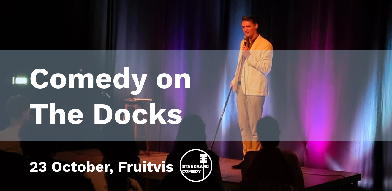 Ticket kopen voor evenement Comedy on The Docks