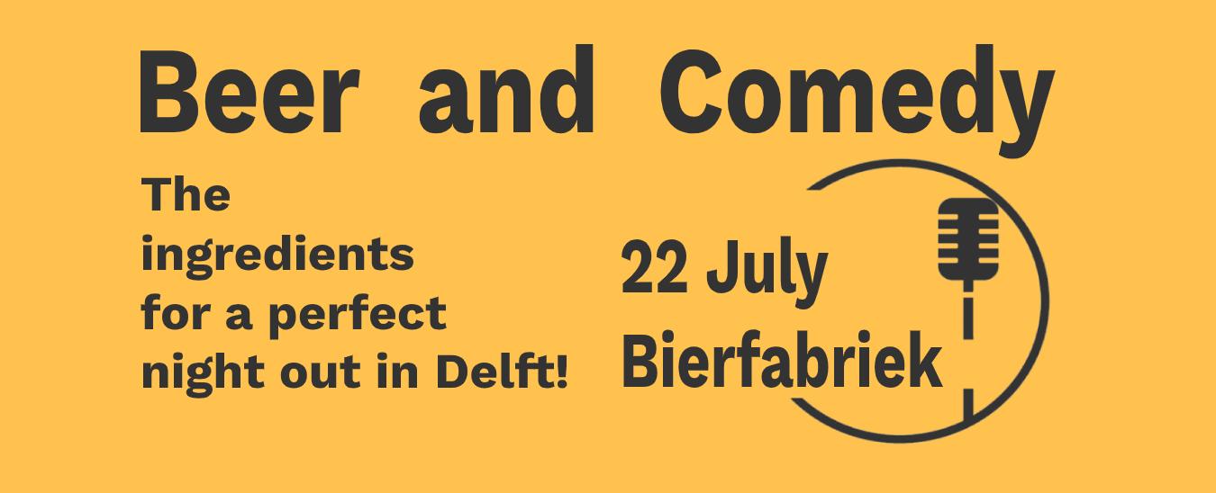 Ticket kopen voor evenement Summer Beer & Comedy - English Stand-up Comedy