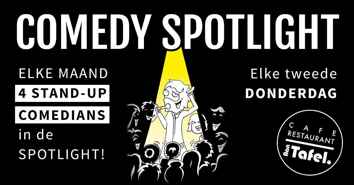 Ticket kopen voor evenement Comedy Spotlight | Zaandam