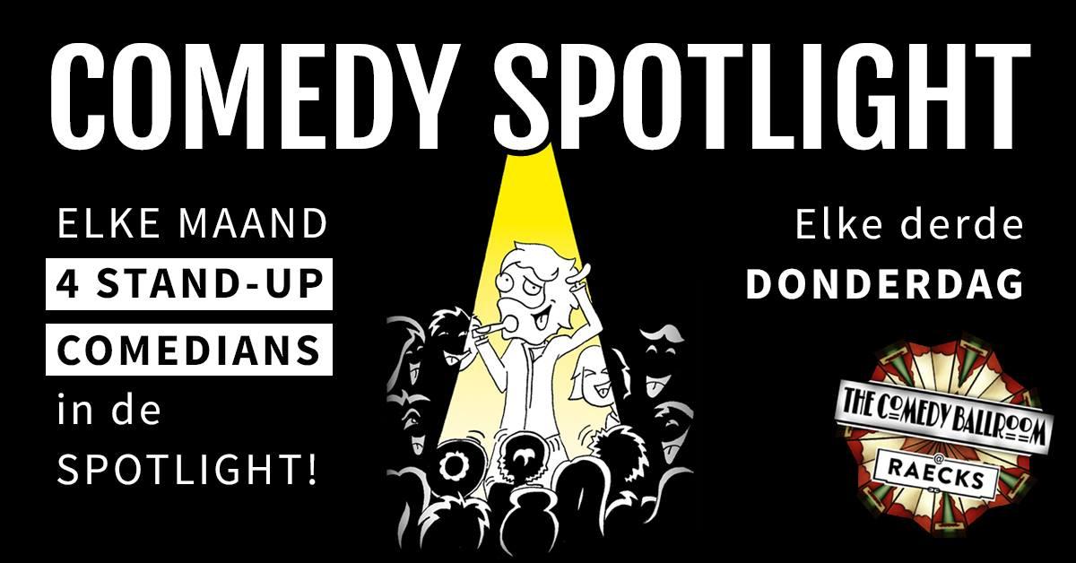Ticket kopen voor evenement Comedy Spotlight | Haarlem