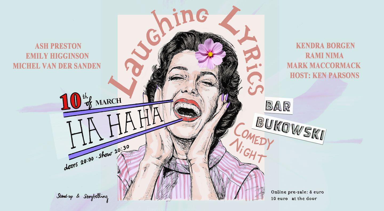 Ticket kopen voor evenement Laughing Lyrics Comedy Night!