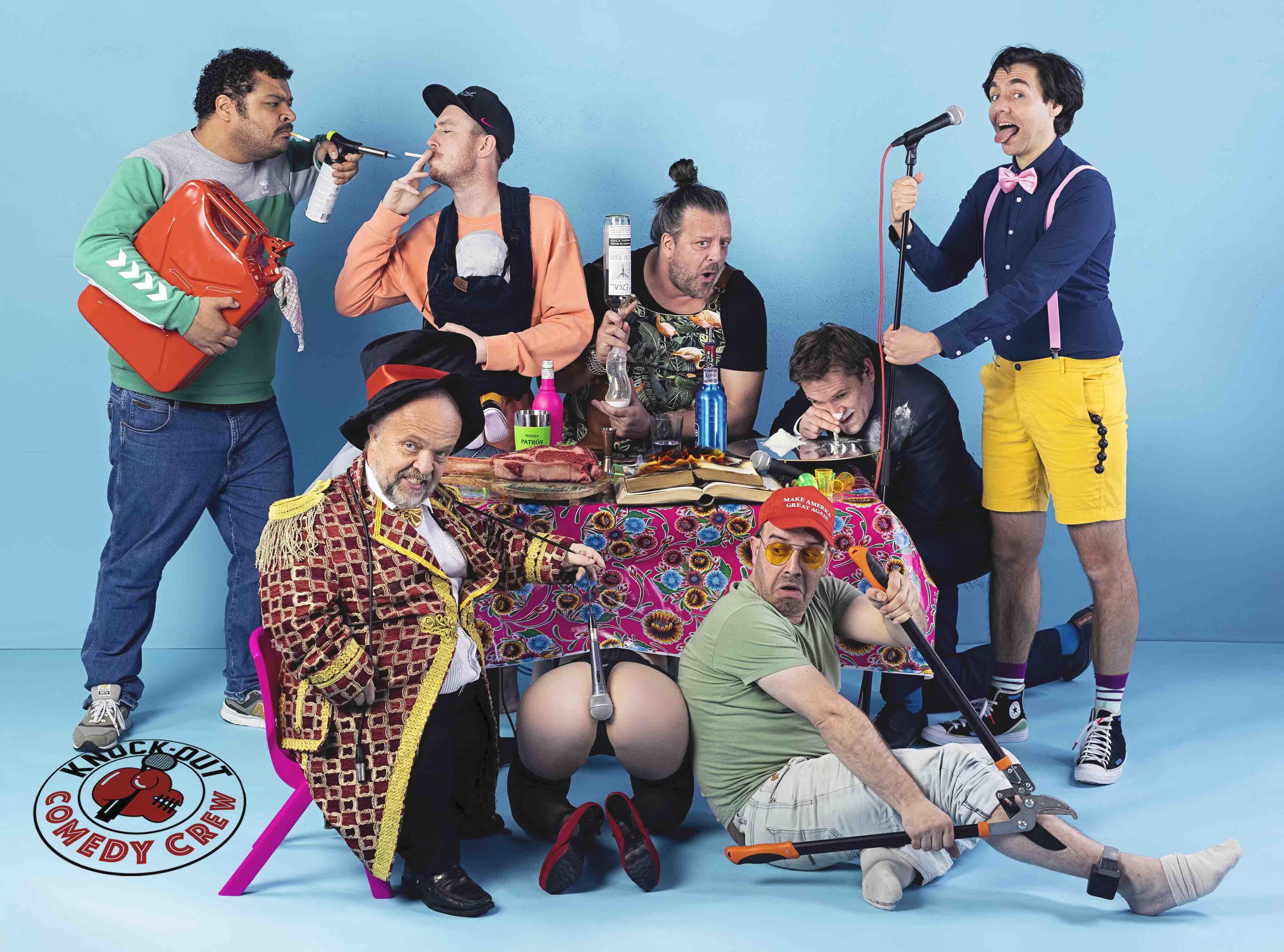 Ticket kopen voor evenement Knock Out Comedy Crew - Nee, dat kan echt niet