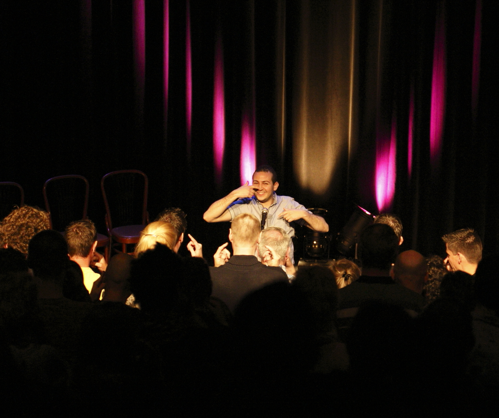 Ticket kopen voor evenement Zeist Lacht: Open Mic, Comedy Night
