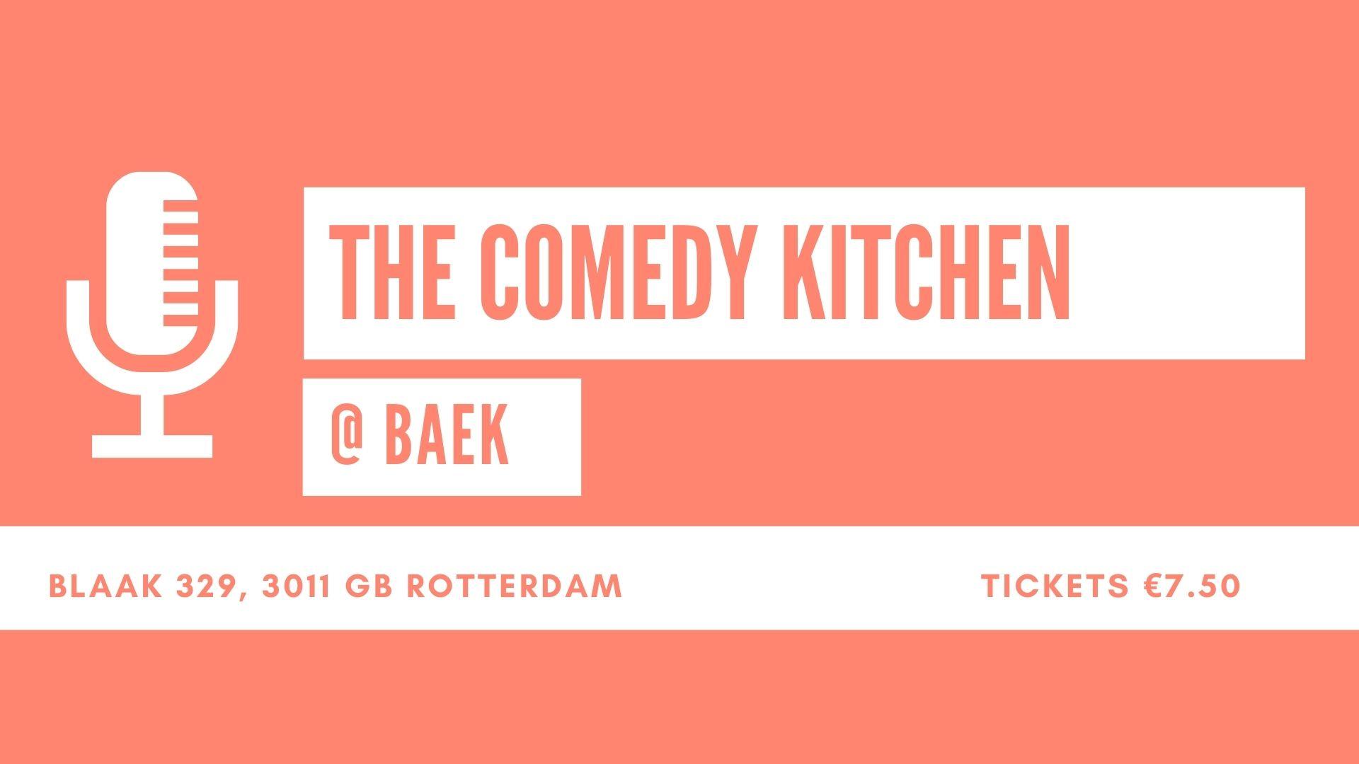 Ticket kopen voor evenement The Comedy Kitchen