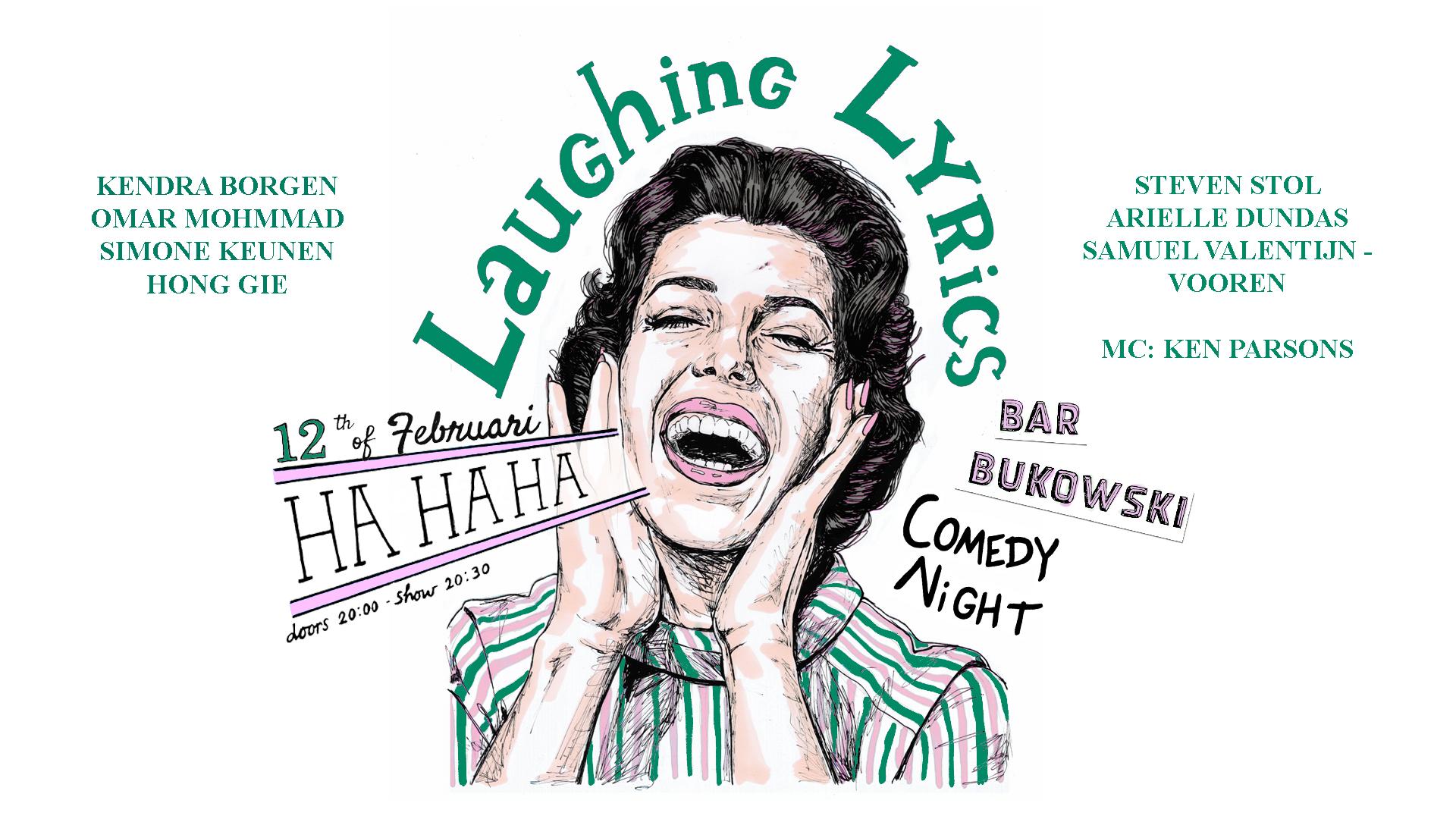 Ticket kopen voor evenement Laughing Lyrics Comedy Night