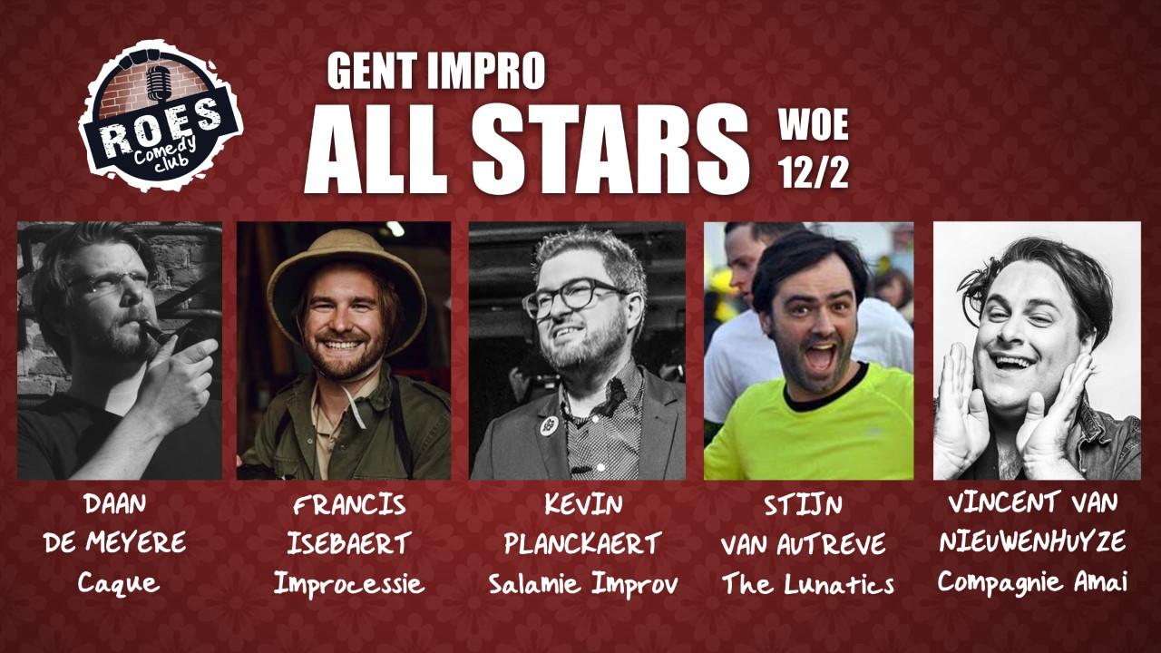 Ticket kopen voor evenement RCC: Gent Impro All Stars