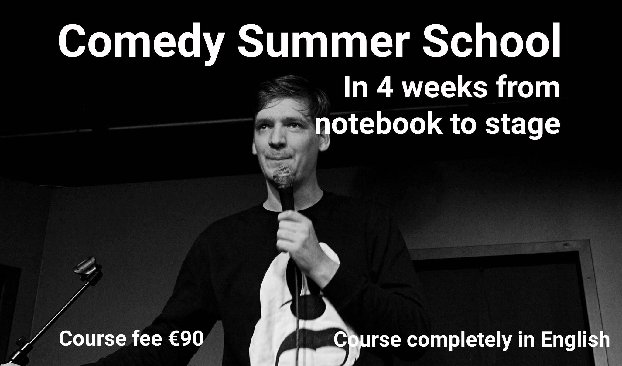 Ticket kopen voor evenement Comedy Summer School