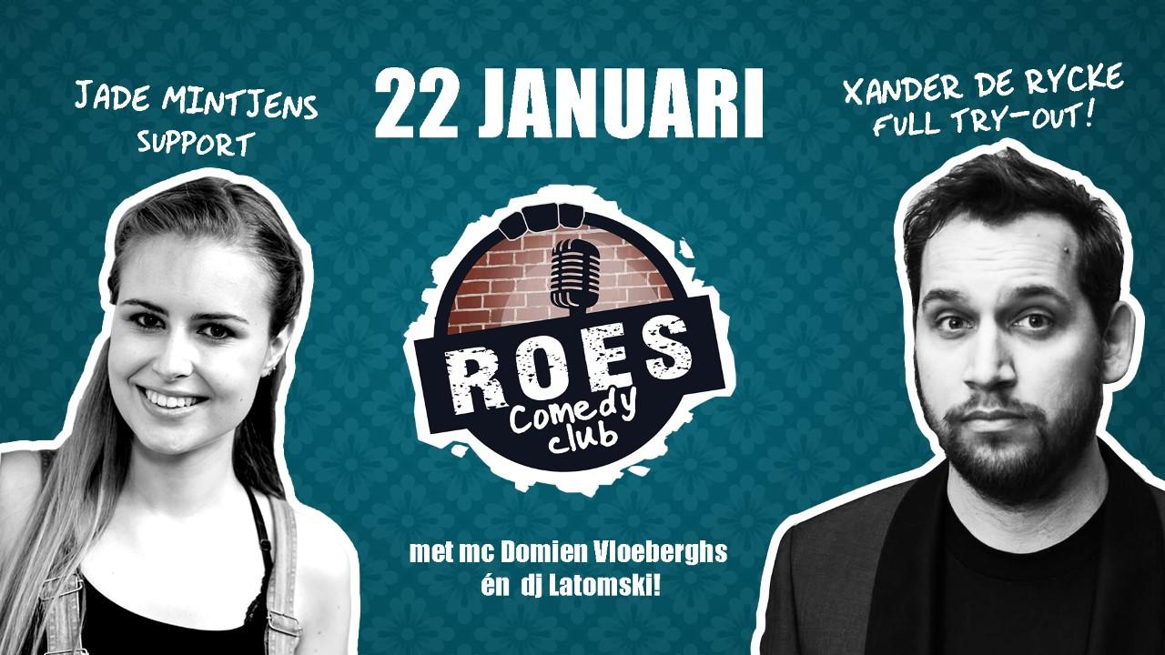Ticket kopen voor evenement Roes Comedy Club: Xander De Rycke