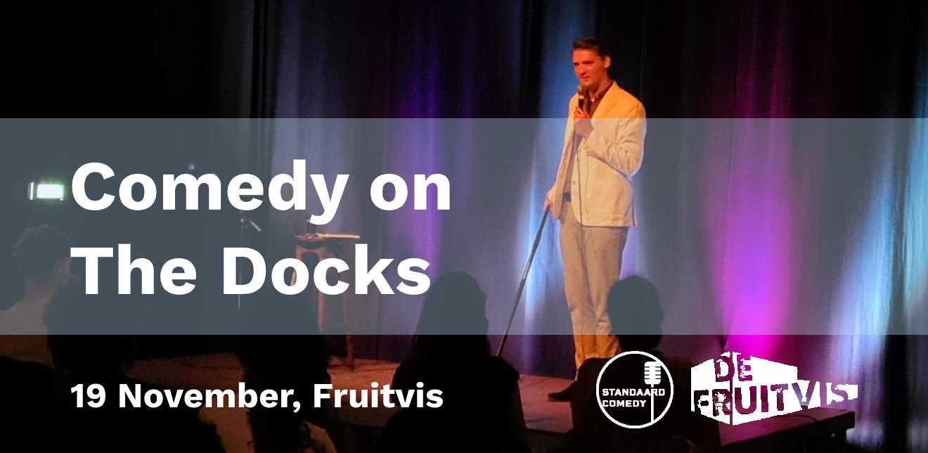 Ticket kopen voor evenement Comedy on The Docks