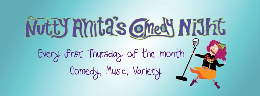 Ticket kopen voor evenement Nutty Anita's Comedy Night- ft Greg Shapiro!