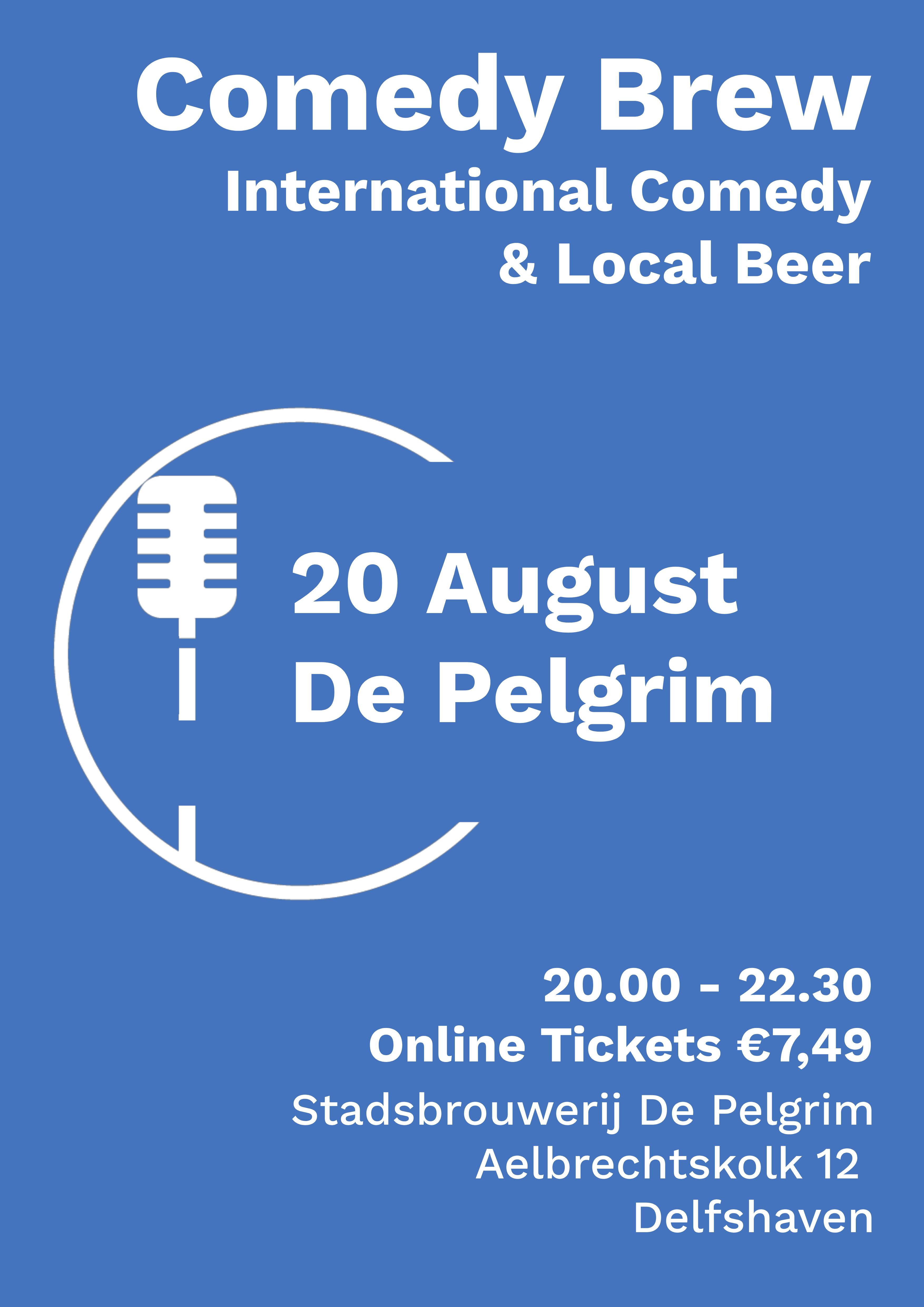 Ticket kopen voor evenement Summer Comedy Brew