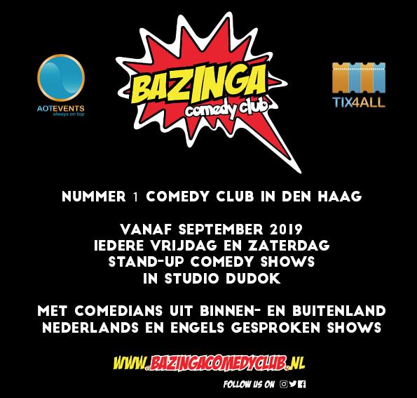 Ticket kopen voor evenement Den Haag Lacht: Open Mic, Comedy Night (NL)