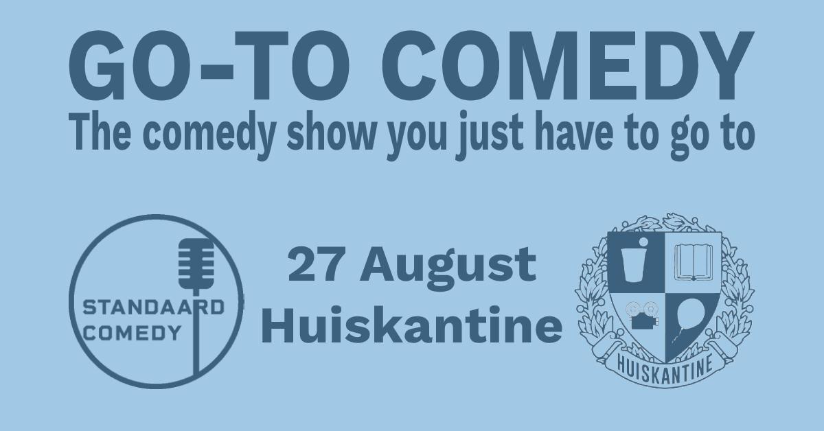 Ticket kopen voor evenement The Go-To Comedy Show