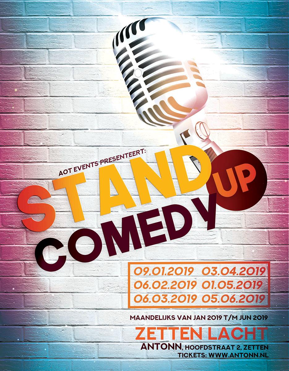 Ticket kopen voor evenement Zetten Lacht: Open Mic, Comedy Night