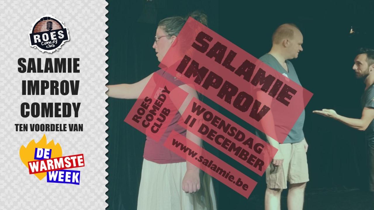 Ticket kopen voor evenement Roes Comedy Club: Salamie Improv