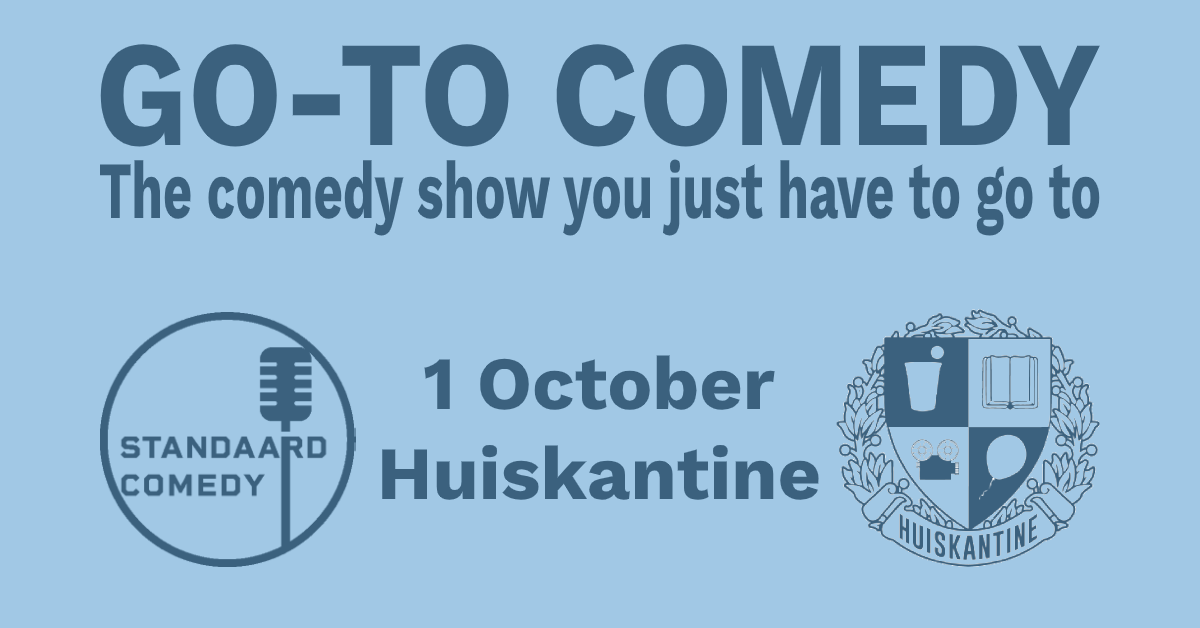 Ticket kopen voor evenement The Go To Comedy Show