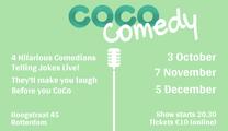 Ticket kopen voor evenement CoCo Comedy November