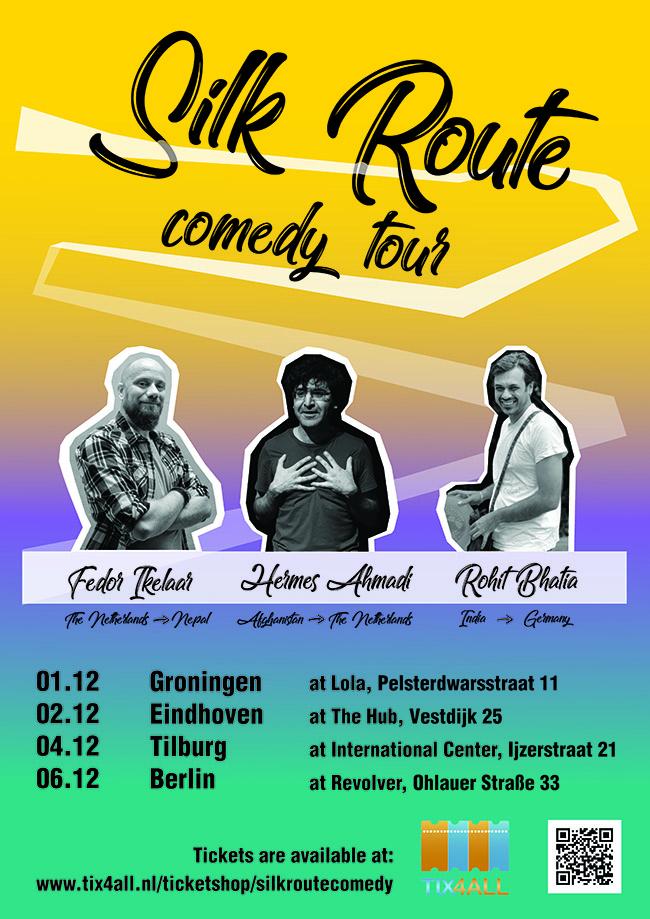Ticket kopen voor evenement Silk Route Comedy Tour at The Hub