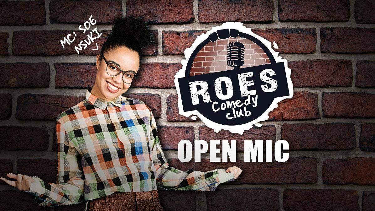 Ticket kopen voor evenement Roes Comedy Club: Open Mic