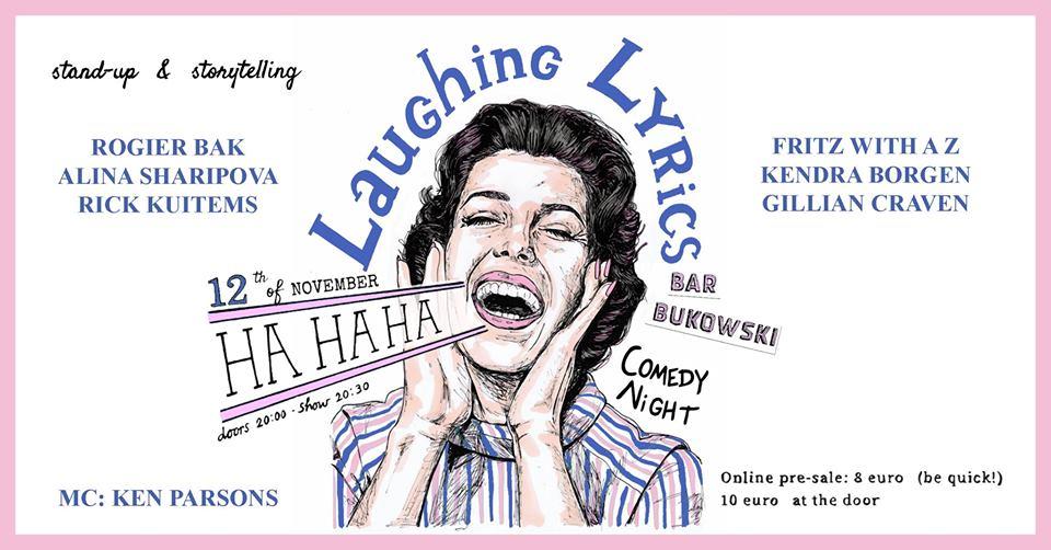 Ticket kopen voor evenement Laughing Lyrics Comedy Night- Fritz with a Z