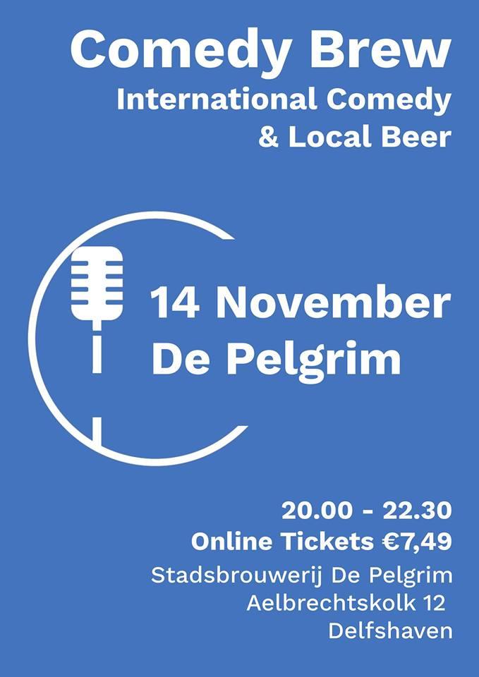 Ticket kopen voor evenement Comedy Brew November