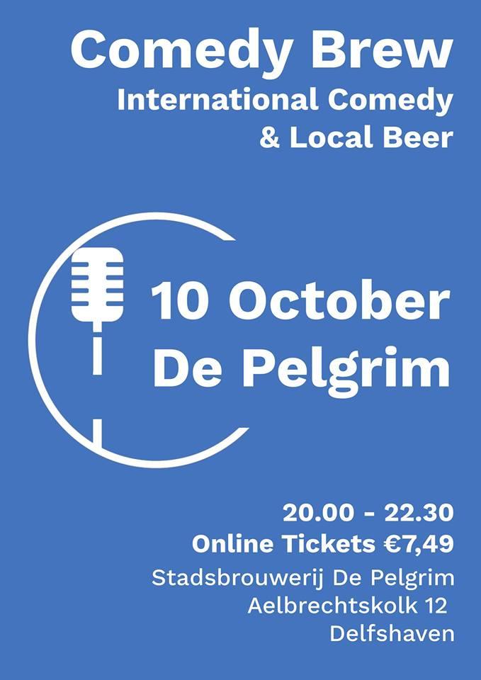 Ticket kopen voor evenement Comedy Brew October