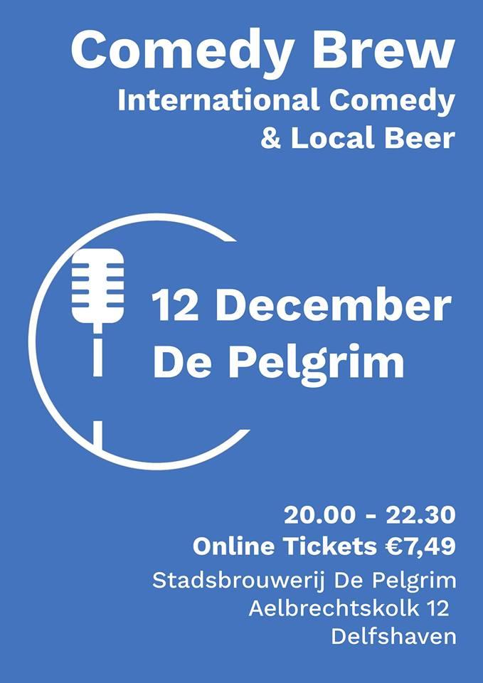 Ticket kopen voor evenement Comedy Brew December
