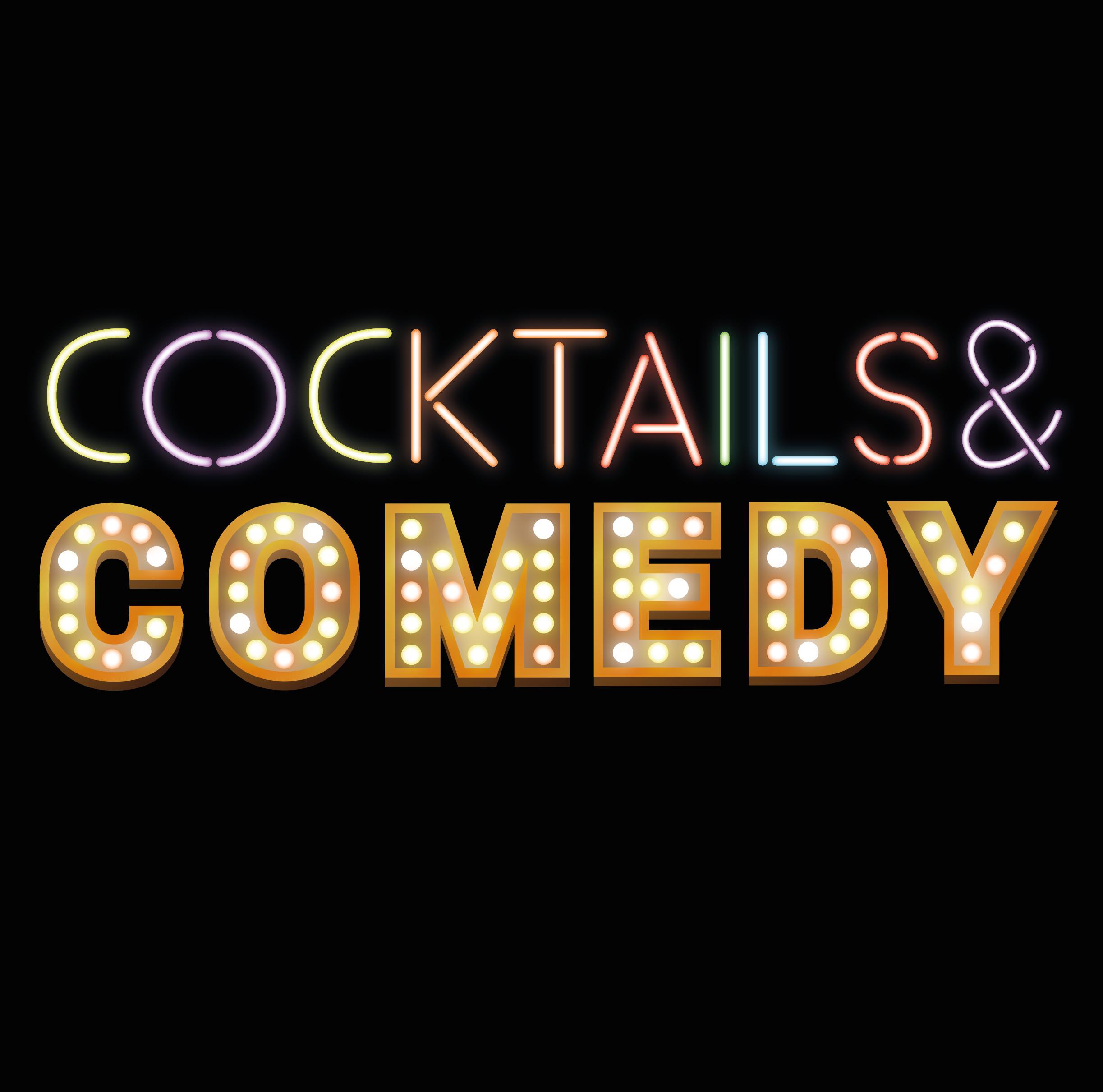 Ticket kopen voor evenement Grappige Zaken: Cocktails & Comedy (Nederlandstalig)