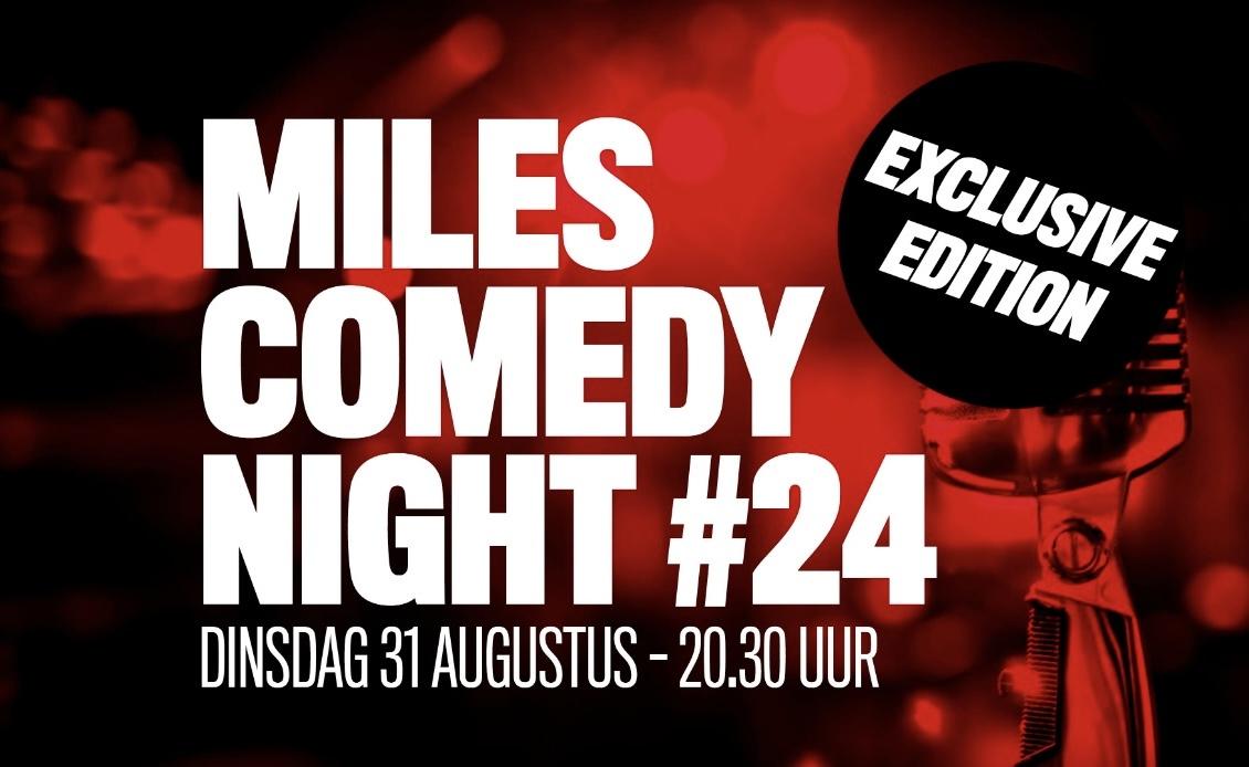 Ticket kopen voor evenement Miles Comedy Night #24