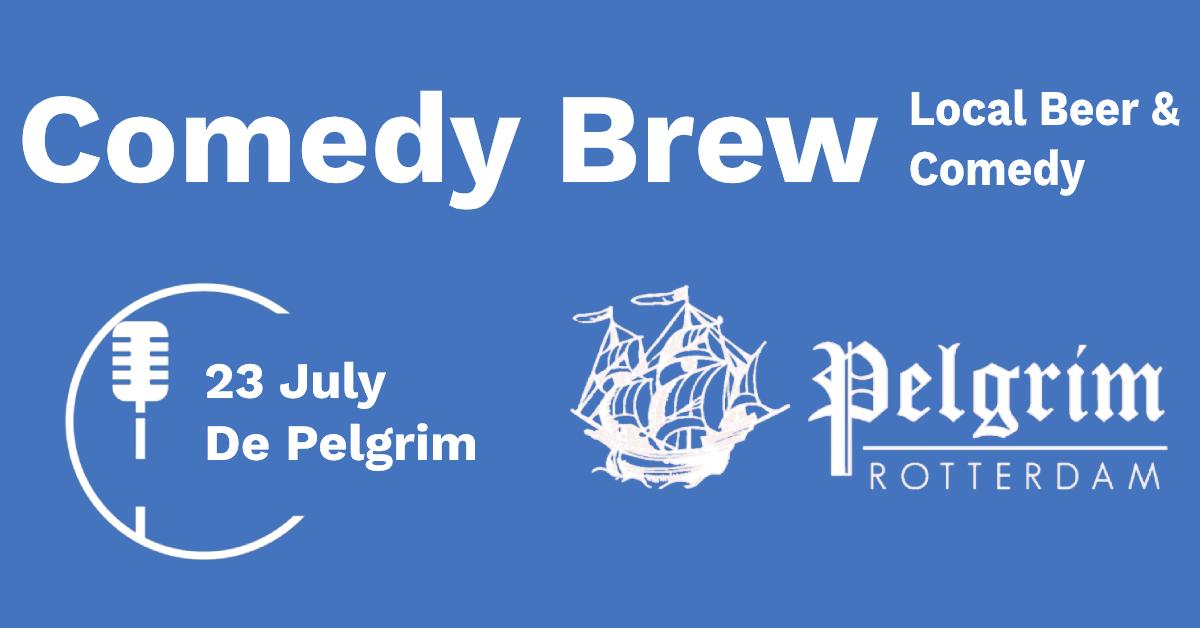 Ticket kopen voor evenement Comedy Brew