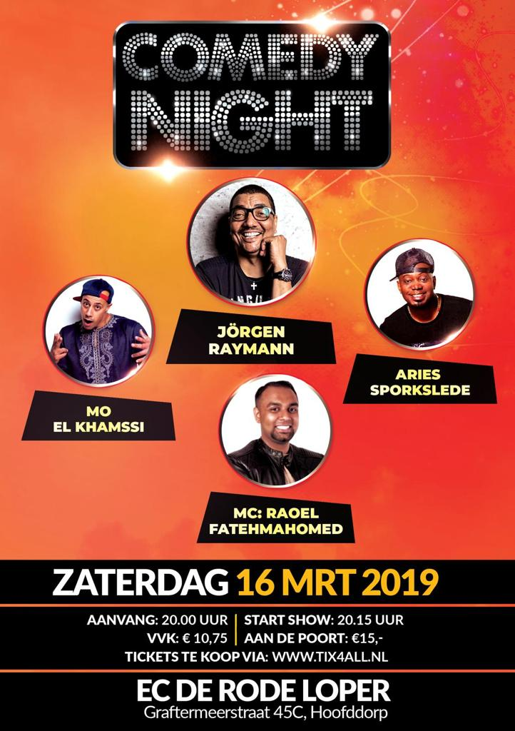 Ticket kopen voor evenement Comedy Night