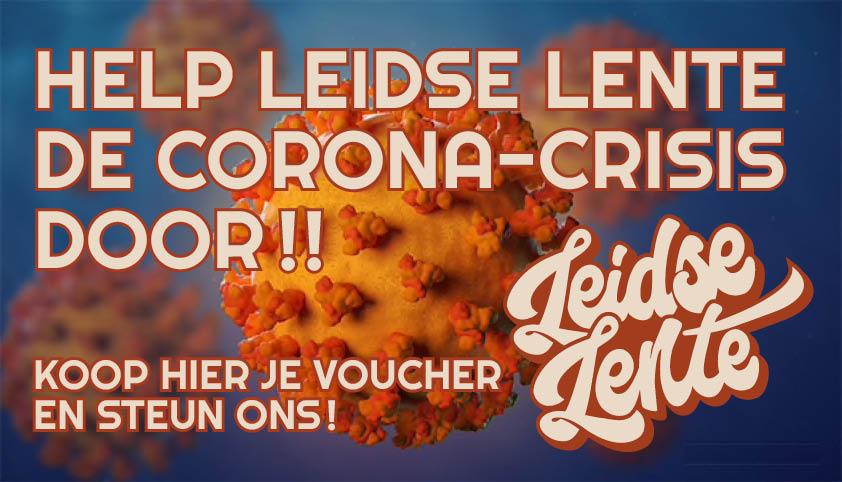 Ticket kopen voor evenement HELP LEIDSE LENTE DE CORONA-CRISIS DOOR!!
