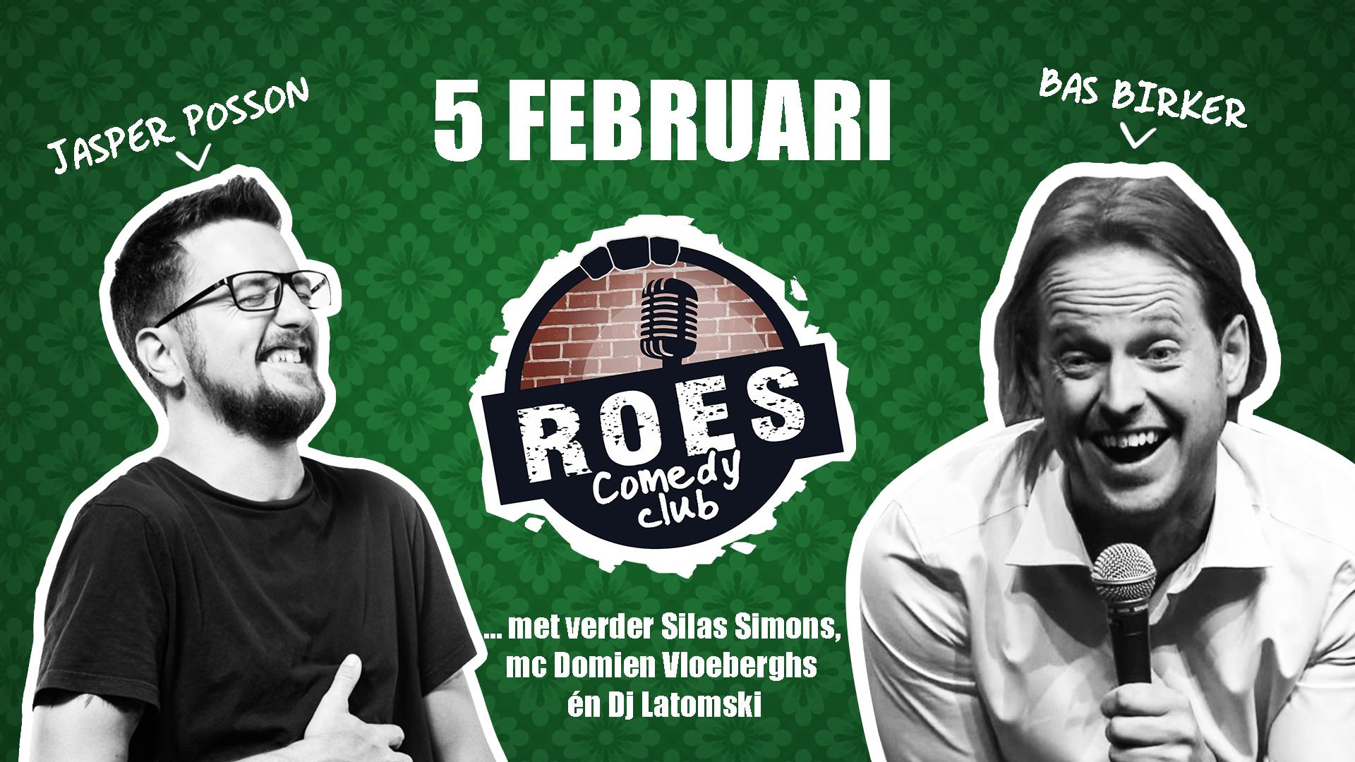 Ticket kopen voor evenement Roes Comedy Club: Bas Birker