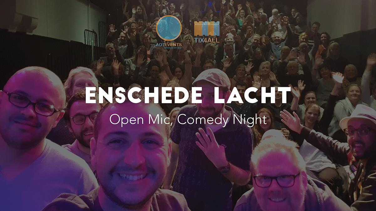 Ticket kopen voor evenement Enschede Lacht: Open Mic, Comedy Night