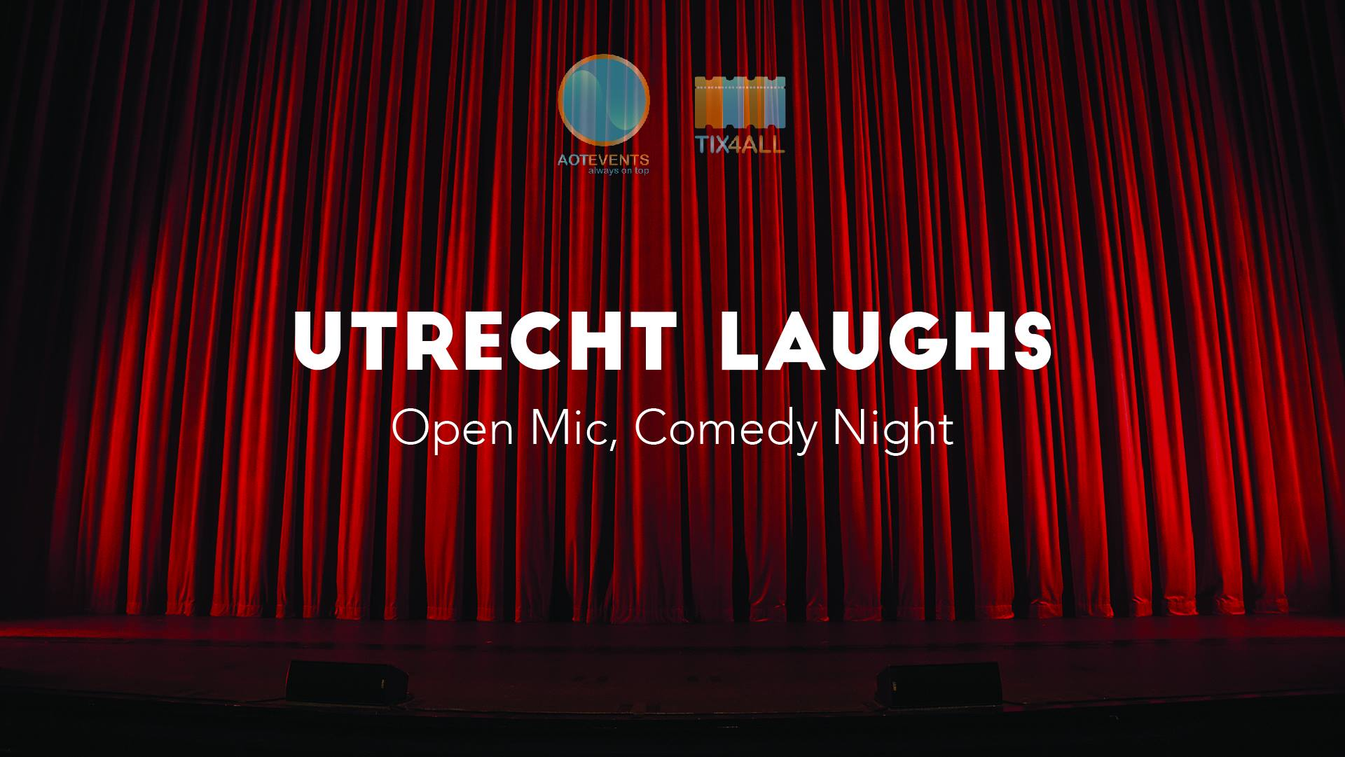 Ticket kopen voor evenement Utrecht Laughs: Try-out, Comedy Night (ENG)