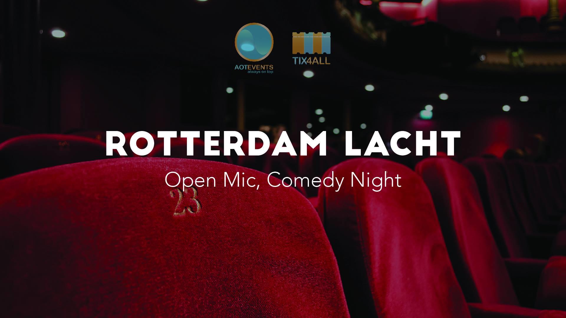 Ticket kopen voor evenement Rotterdam Lacht: Open Mic, Comedy Night