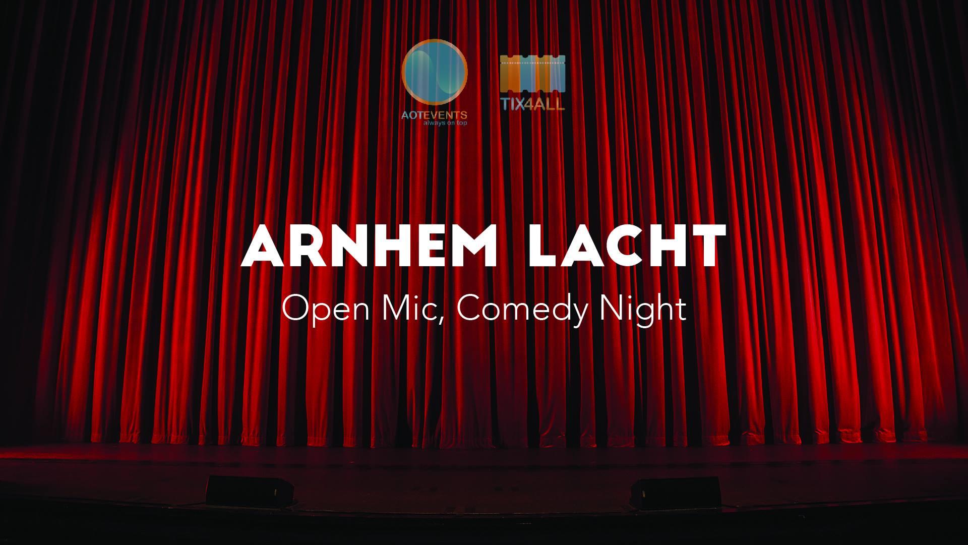 Ticket kopen voor evenement Arnhem Lacht: Open Mic, Comedy Night