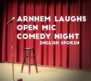 Ticket kopen voor evenement Arnhem Laughs: Open Mic, Comedy Night (ENG)
